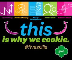 When you buy a box of Girl Scout cookies, you're getting more than just a delicious treat. You're helping a girl build the skills and confidence that will last a lifetime.