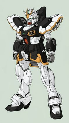 The XXXG-0SR Gundam Sandrock (aka Sandrock or Gundam Zero-Four) is a close quarters ground mobile suit, it is featured in the anime series Mobile Suit Gundam Wing. The unit is piloted by Quatre Raberba Winner.
