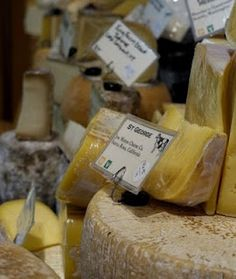 Cheese from The Cowgirl Creamery in Point Reyes Station, California, home of the famous Point Reyes Blue Cheese, my favorite!!