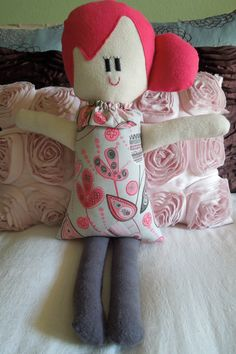 Rag Doll Sewing  Pattern