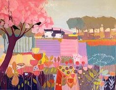 March Blossom Tree by Annabel Burton