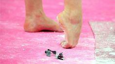 gymnastics feet <3