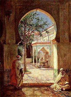 Eugene o'neill, Deserts and Toile on Pinterest Pinterest236 × 323Buscar por imagen Algérie - Peintre Américain , Addison Thomas Millar (1860 – 1913), huile sur