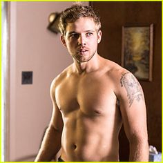 Max Thieriot I promise I did not search max Thieriot shirtless to find this…