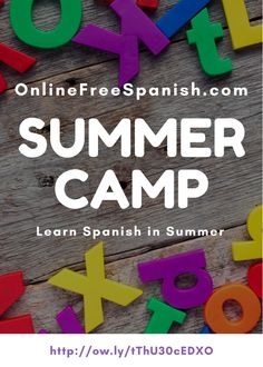 New Spanish summer camp for 2017!