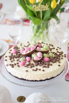 gâteau - Cakes and desserts - Cake-Kuchen-Gateau Cake Recipes, Dessert Recipes, Sweet Recipes, Gateaux Cake, Easter Treats, Easter Cake, Easter Recipes, Cheesecakes, Delicious Desserts