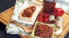 zacusca de ciuperci cu usturoi reteta savori urbane Dairy, Cheese, Food, Preserve, Essen, Meals, Yemek, Eten