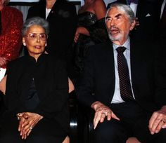 Lena Horne and Gregory Peck