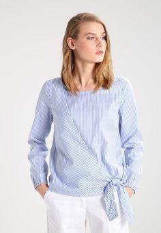 comma casual identity Blouse - blue stripes -