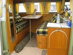 green and yellow.  Curtains have bottom rail
