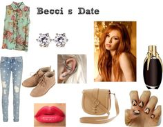 """Becci's Date"" by michaelamarie99 on Polyvore"