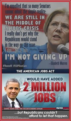 Vote this Nov 4th 2014 and give President Obama a house and senate he can work with to end republican tax breaks for sending jobs overseas. We need jobs here, not in China.