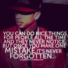 You can do nice things for people...