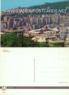 € 1,20 - code : ITA-021 - Genova - Ferraris - stadium postcard cartolina stadio carte stade estadio tarjeta postal