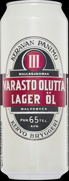 Varasto Olutta by Keravan Panimo, Finland. 5/10 pts