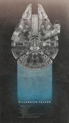 Millennium Falcon #StarWars