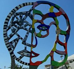 Niki de St. Phalle- Coming Together (in San Diego, CA)
