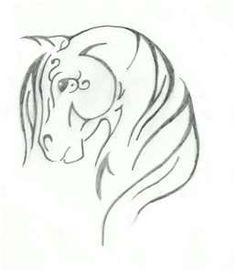 Tribal Horse Tattoos for Women | tribal horse design by keyoma09 on deviantart