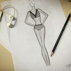 #croqui  #drawing #fashion <3
