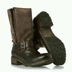 Clarks Ladies Majorca Isle Brown Combi Leather Mid Calf Boots Size UK  4.5 37.5 in d925963ac1