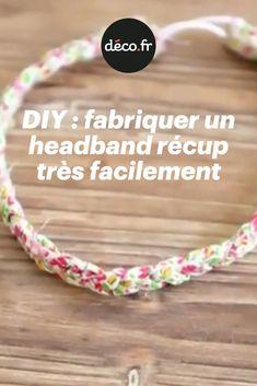 Aujourd'hui, Solène, la créatrice des bijoux Comptoir de Soli nous apprend à fabriquer un headband en tissu récup' ! Cet accessoire est hyper simple à fabriquer, même sans être un pro de l'aiguille, promis... la preuve juste ci-dessous, dans le tuto vidéo de Solène. Alors à vos marques, prêts... DIY ! Bandeau, Hui, Couture, Simple, Making A Bow, Old Dresses, Old Clothes, Fabric Scraps, Counter Top