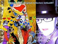 """LadyPicasso.me Tetka Rhu - Google+ ...  Love it when people own their worth and value and take ACTION .... Bow ... Bravo.... Clapping .... Encore ... smiles .... HUgs Tetka xox  Vegas Kiss: Original Collectors Vegas Connection Contemporary tetkaART  ARTIST: Lady Picasso Tetka Rhu YOUR Artist of Creation """"where ART is more than ART"""" http://ladypicasso.me  #tetka #arts #artist #vegas #kiss #business #entrepreneurs #Yes"""