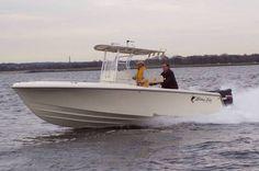 New 2012 Blue Fin Boats Pro Fish 250 CC Center Console Boat - White Hull