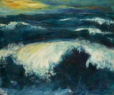 Emil Nolde - a wave