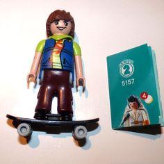 Serie 2: Skater - Playmoclicks.Precio: 3,95 € Consíguelo en: http://www.playmoclicks.com/es/figuras-sueltas/1445-serie-2-skater.html