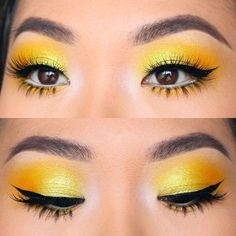 Golden girl @colorpunch wearing our #PixieLuxeLashes ✨☀️ Love a bright color all over the lids! #houseoflashes #lashes #lashgamestrong #lashfocus #browfocus #motd #makeuplooks #crueltyfree