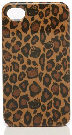 Hello Kitty Leopard iPhone 4 Case $30