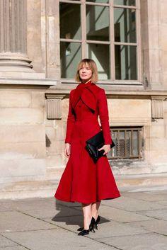 Foto Fashion, Vogue Fashion, Red Fashion, Fashion News, Vintage Fashion, Womens Fashion, Paris Fashion, Style Fashion, Fashion Moda