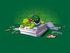 HA! Tripp in 20 years... My little turtle