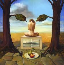 painting by Savador Dali