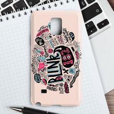 Blink 182 Pink Samsung Galaxy Note 4 Case | casefantasy