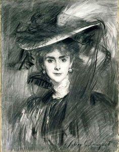 John Singer Sargent - Baroness de Meyer, 1907