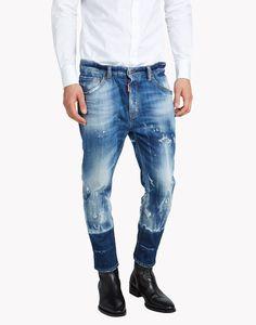 Dsquared2 Dan Elastic Waist Jeans