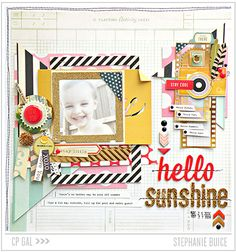 Crate Paper | CP Gal Stephanie Buice | Hello Sunshine