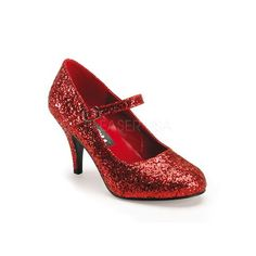 Funtasma Damen Mary Janes, Glitter Rot, EU 39 (US - Damen pumps (*Partner-Link) Women's Shoes, Red Shoes, Me Too Shoes, Saddle Shoes, White Shoes, Mary Jane Heels, Wizard Of Oz Shoes, Red Glitter Shoes, Sparkly Shoes