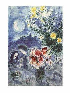 Marc Chagall - Abenderinnerung