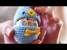 Tuto oeufs de Pâques // Crochet facile Fr - YouTube Easter Crochet Patterns, Crochet Hats, Beanie, Miniatures, Homemade, Diy, Youtube Crochet, Recherche Google, Image