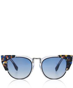 Fendi Multicolour Runway Sunglasses   Accessories   Liberty.co.uk