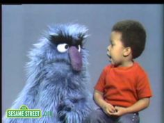 Jerry Nelson performing as Herry Monster with John John. For many around the Sesame Workshop offices, this clip is a favorite!