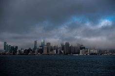 Awesome Wallpapers - wallhaven.cc High Quality Wallpapers, New York Skyline, San Francisco, Clouds, Sea, City, Awesome, The Ocean, Cities