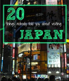 When I first arrived in Tokyo, I had no idea how to eat sushi correctly, why people bow and how to greet or thank in Japanese. I didn't know why people take their shoes off or that it's perfectly safe to carry large amounts of yen in my wallet. Do you know what to expect from a visit to Japan? Learn the 20 things that nobody told you about visiting Japan.
