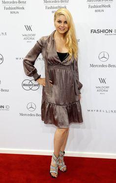 Pin for Later: Die Stars machen Berlin zum Mode-Mekka bei der Fashion Week Yvonne Wölke bei der Schau von Rebekka Ruétz
