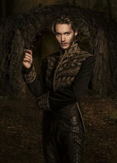 Toby Regbo as Dauphin Francis, Prince of France in the CW television show, Reign