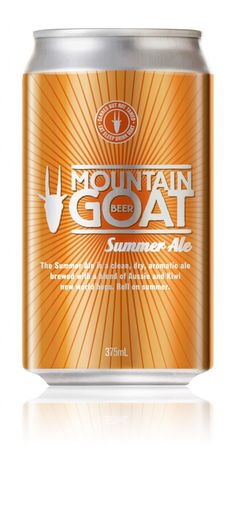 Mountain Goat summer ale - yum!