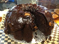 The Black Rooster Bakery Mexican Chocolate Cake