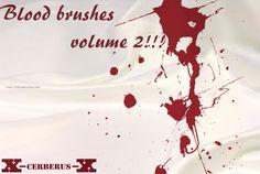 Blood 36 - Download  Photoshop brush http://www.123freebrushes.com/blood-36/ , Published in #BloodSplatter, #GrungeSplatter. More Free Grunge & Splatter Brushes, http://www.123freebrushes.com/free-brushes/grunge-splatter/   #123freebrushes